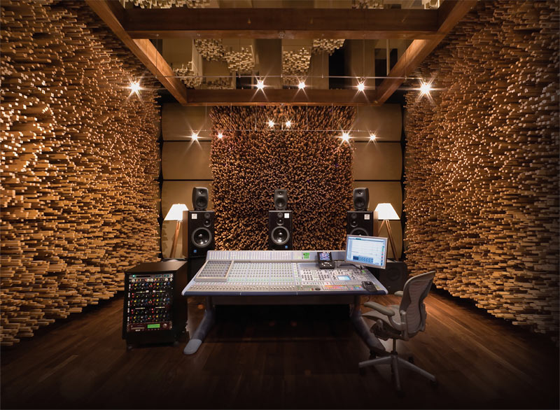 Groovy 15 Design Ideas For Home Music Rooms And Studios Sleep Music Largest Home Design Picture Inspirations Pitcheantrous