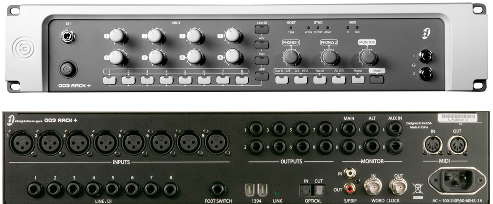 Digidesign 003 Rack+ Factory