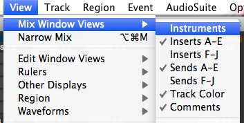Signal Routing in Pro Tools